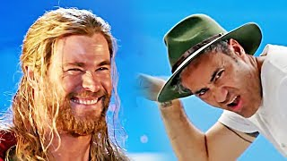Thor 3: Ragnarok - Bloopers & Outtakes with Taika Waititi (2018)