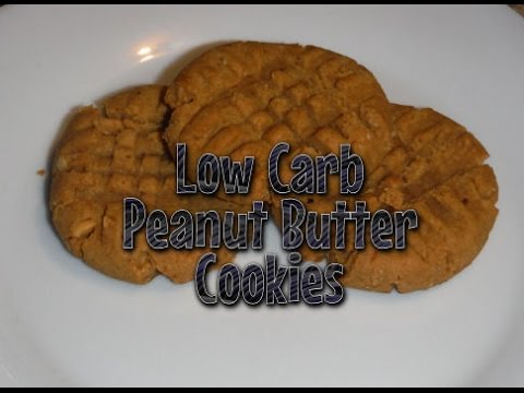 Low Carb Peanut Butter Cookies & Best PB to use for Low Carb!