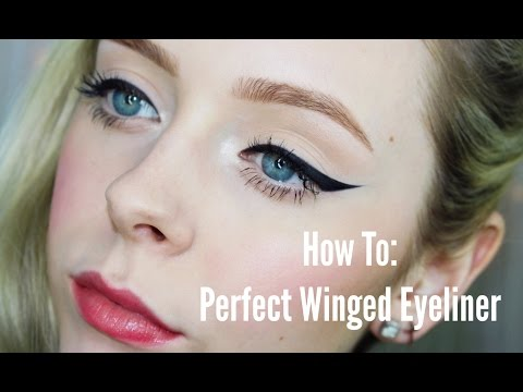 How To: Perfect Winged Eyeliner | Cosmobyhaley