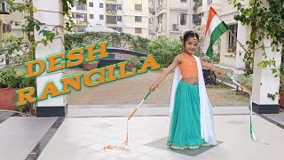Desh Rangila   Republic Day Special   Fanaa   Amir Khan   Kajol   Kids Dance   Maverick Mihika
