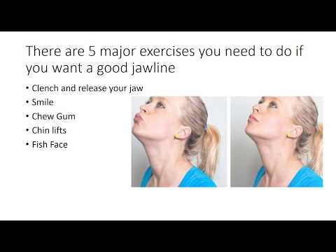 exercises for a good jawline
