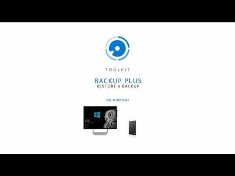 Toolkit for Windows - Restore a Backup