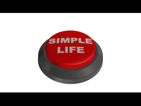 Simple Life button, cam test