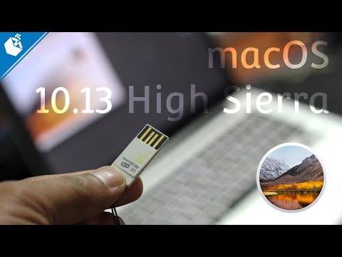 Make macOS 10.13 High Sierra Bootable USB Flash Drive