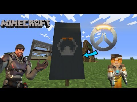 How to make an Overwatch Symbol in Minecraft!
