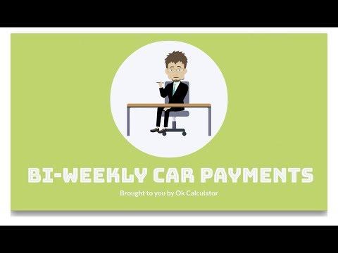 bi weekly car payments - explainer