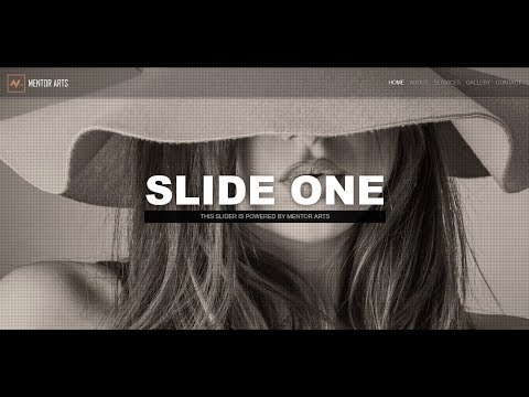 How to create a Full Screen Responsive Slider with Pure CSS