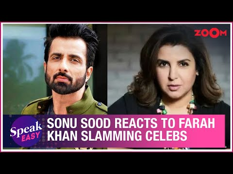 Sonu Sood REACTS to Farah Khan calling out celebrities sharing their working out videos | Exclusive