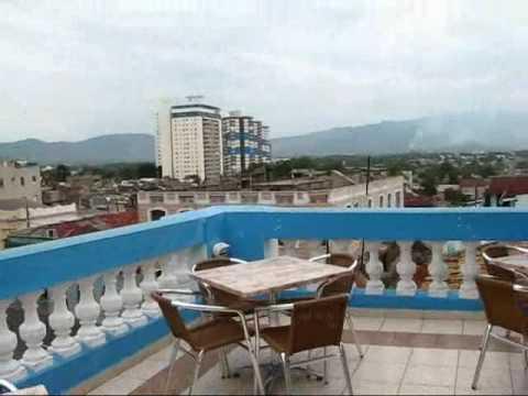 Cuba Travel - Santiago de Cuba: Magnificent View from Hotel Libertad