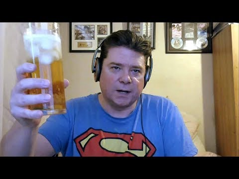 ASMR Drinking A Glass Of Ice Cold Bavaria Shandy
