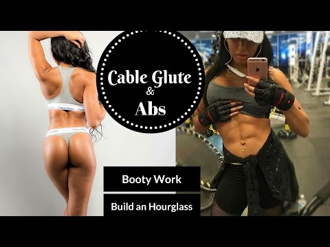 All Cables Glute and Abs Workout / Build an Hourglass Figure