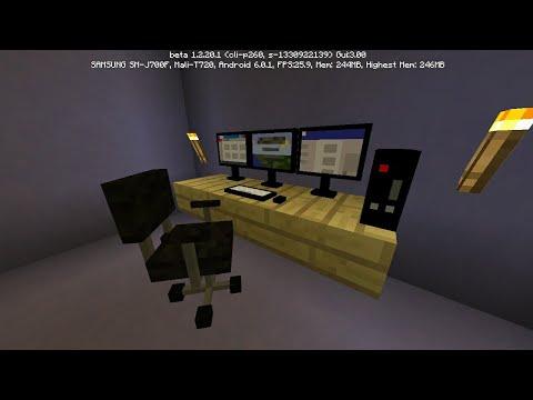 MCPE 1.3 How To Get Modern Furniture
