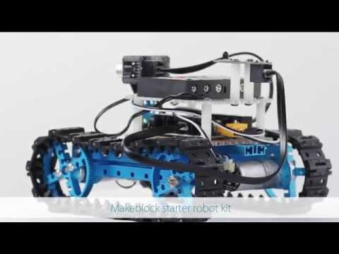 Makeblock Starter Robot Kit, Your First Step to Arduino, Sratch, Electronics and More!