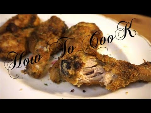 HOW TO MAKE THE BEST JAMAICAN HOME MADE OVEN BAKED FRIED CHICKEN RECIPE 2017