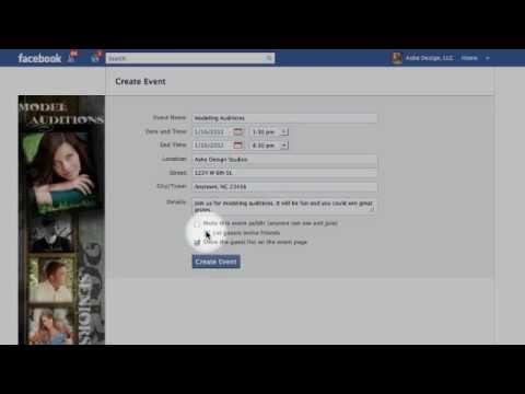 Create Studio Invitations with FB Profile Images