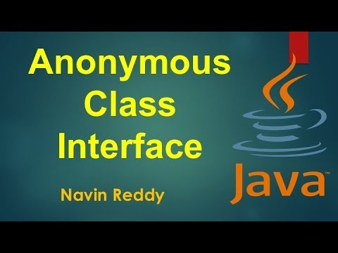 #7.4 Java Tutorial | Anonymous class with Interface