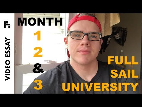 Full Sail Experience - Months 1, 2, & 3 - Video Essay
