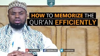 How to Memorize the Qur