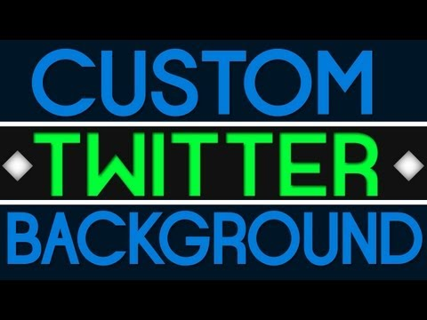 Make A Twitter Background And Improve your Business Brand