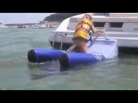 Lakehouse Lifestyle Floating Dog Ramp