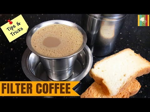 Filter Coffee in Tamil | Degree Coffee Recipe | South Indian Filter Coffee at Home | பில்டர் காபி