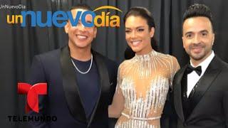 ¡Zuleyka Rivera puso a todos a bailar en los Grammy! | Un Nuevo Día | Telemundo