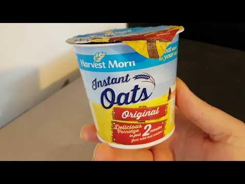 ALDI Harvest Morn Instant Oats - Original 50g
