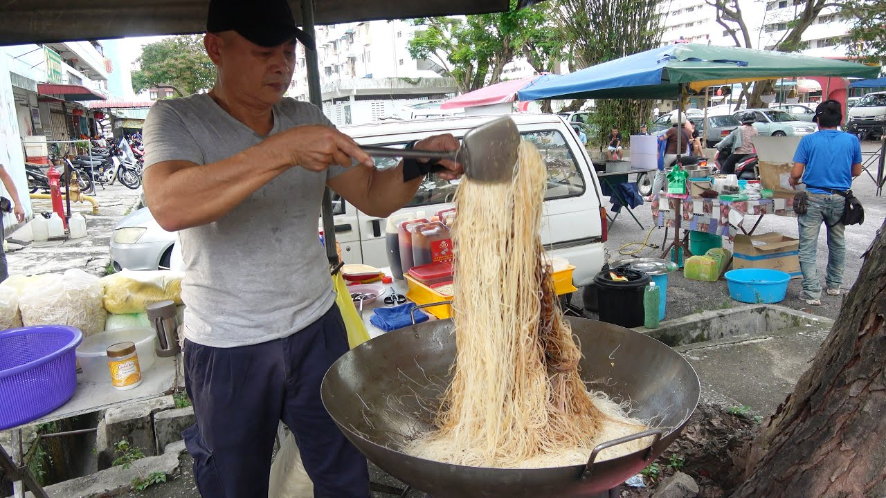Malaysia Street Food Penang Monday Night Market