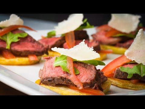 Beef Tenderloin Canapés