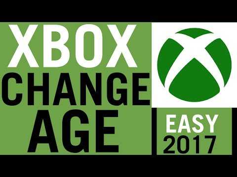 How To Change Age Of Xbox One Account
