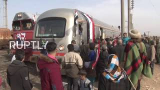 Syria: Train travels through Aleppo for first time in over four years