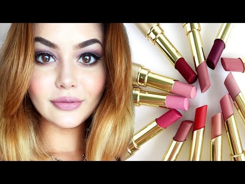 Stila Matte'ificent Lipstick Review