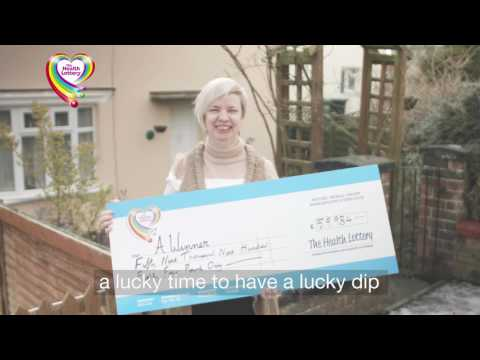 Angela's Winner Story - The Health Lottery