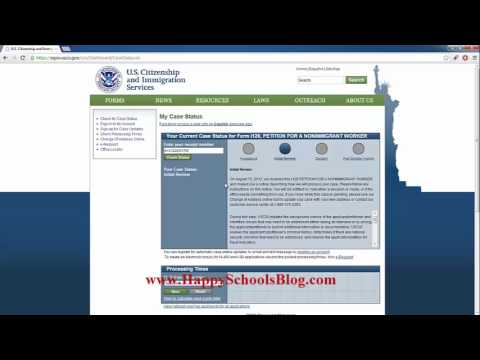 USCIS Case Status Check Online with Receipt Number