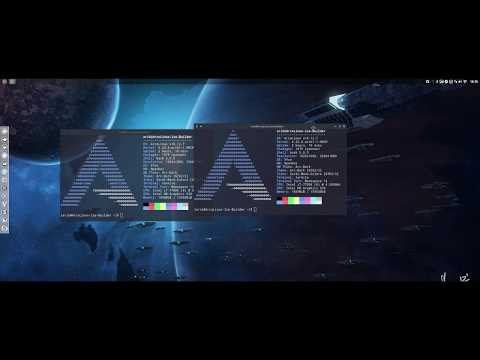 Testing ArcoLinux on an LG 34uc79g - widescreen of 34 inch