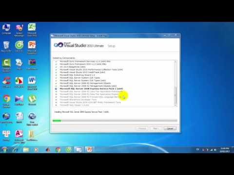 Hướng dẫn cách cài Visual Studio crack 2010