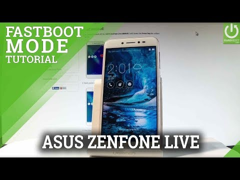 CSC Fastboot Mode in ASUS ZenFone Live - Enter / Quit CSC Fastboot