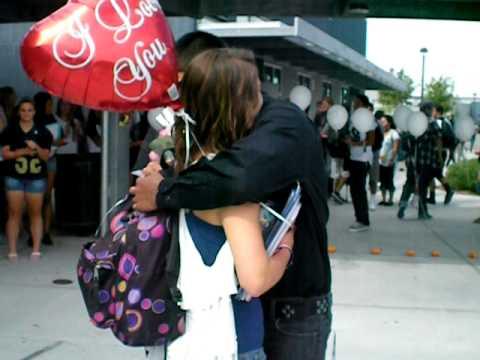 Cute homecoming asking 2011