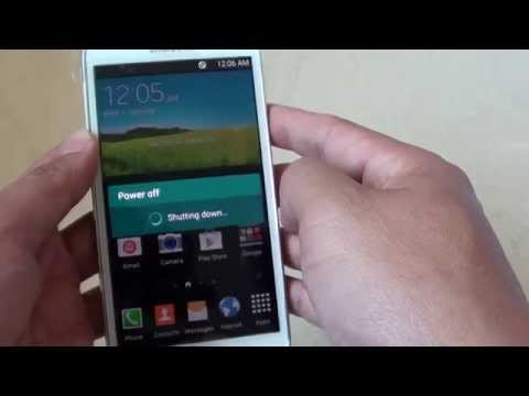 How to Turn the Samsung Galaxy S5 On/Off