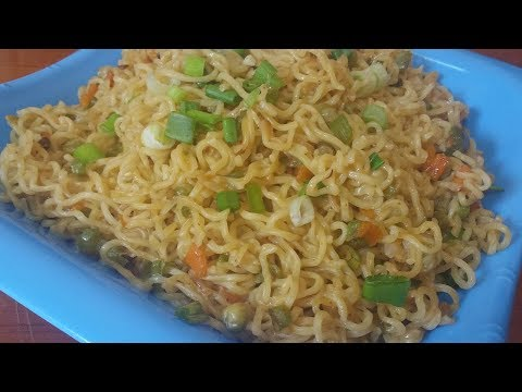 How to make INDOMIE NOODLES in a unique way.........
