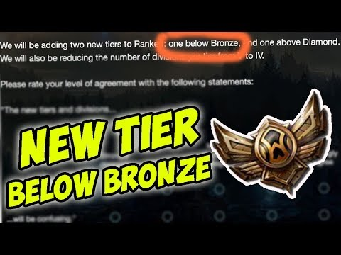 NEW TIER BELOW BRONZE IS COMING (**this video shows why 👍)- Bronze Spectates 56