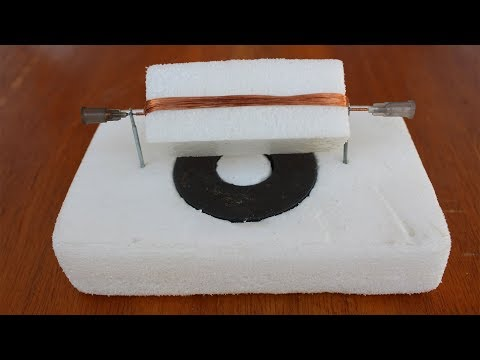 DIY Simple DC Motor / How to Make a Simple dc Motor