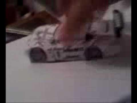 3D paper cars