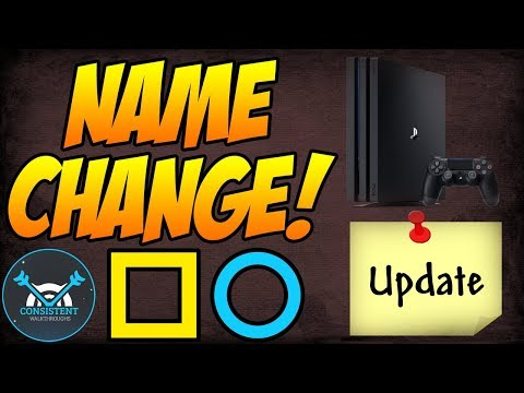 YOU CAN NOW CHANGE YOUR PSN ID NAME? (Price, When? - Playstation Network Update Coming This Year)
