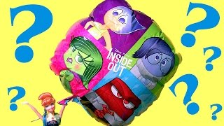 Giant Inside Out Balloon Surprise Toys Eggs EXCLUSIVE OLAF Vinylmation, Monster High, Peppa Pig
