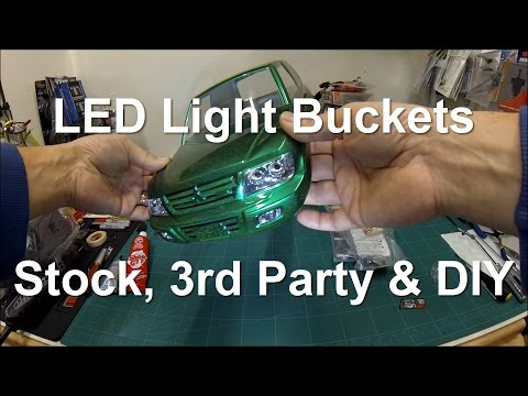 LED Light Buckets - Stock, 3rd Party & DIY for your RC models.