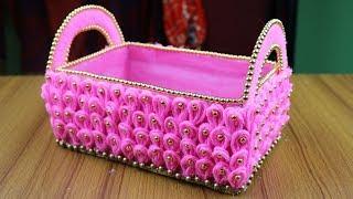 Amazing Woolen Design - Woolen Craft Idea- Best reuse idea - Best out of waste - DIY arts and crafts