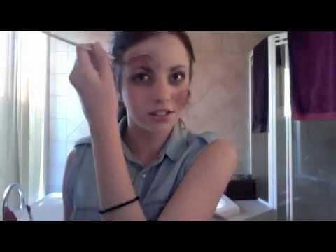Zombie/Dead Girl Makeup