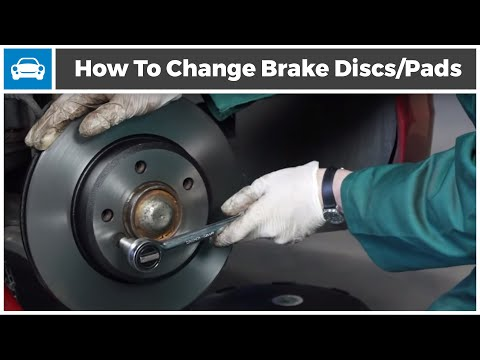 How to change your Brake Discs and Brake Pads from MicksGarage.com