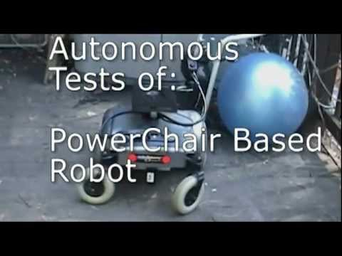 Build This Autonomous Robot From Power Chair Wheelchair